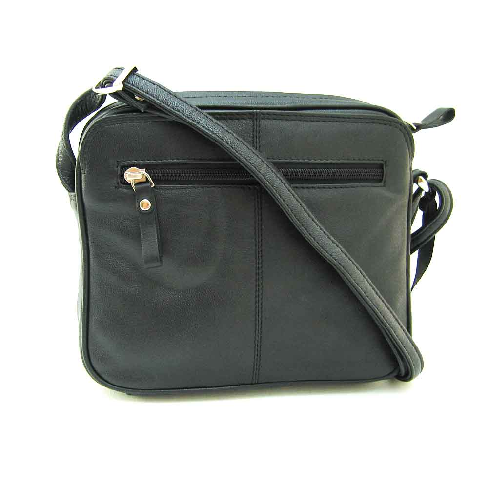 black square cross body
