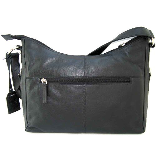 black hammock shoulder bag