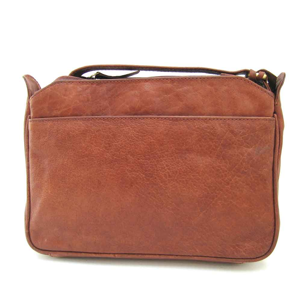veg tan leather organiser