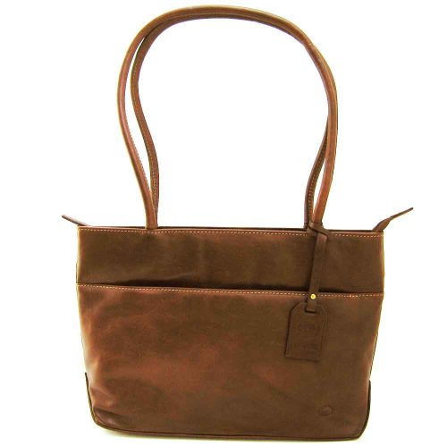 tan leather business bag