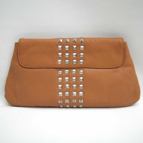 Tan-studded-clutch