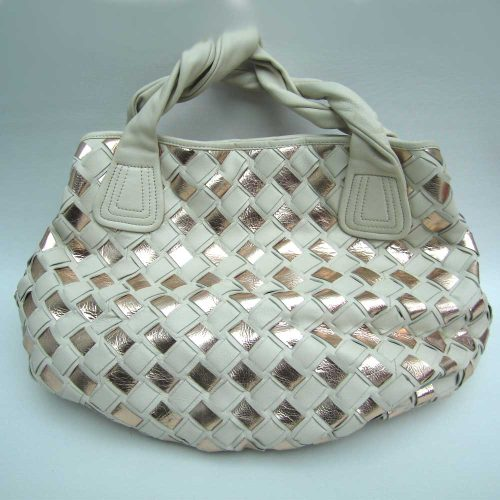 cream-gold-woven-leather-holdall