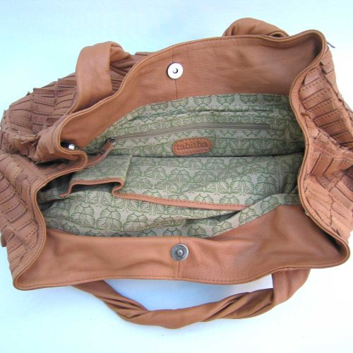 large-tan-leather-flap-holdall
