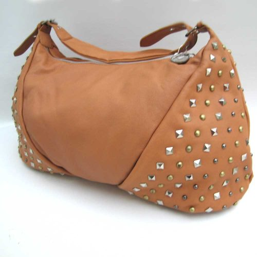 leather-tan-studded-bag