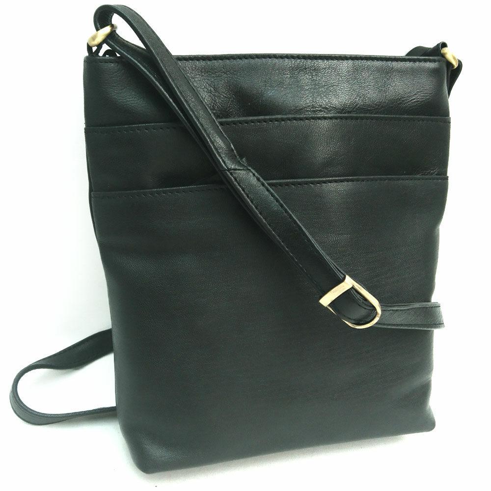 triple-zip-leather-bag-black