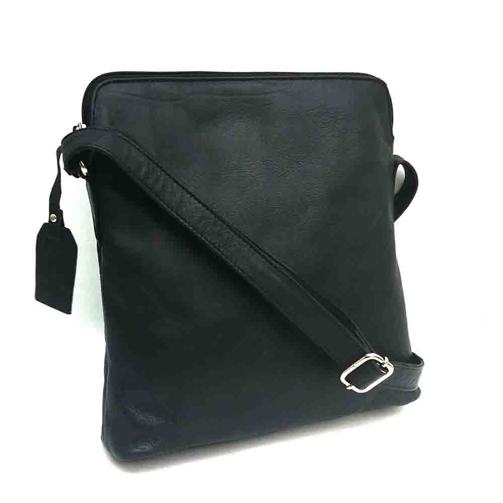 black-leather-cross-body-bag