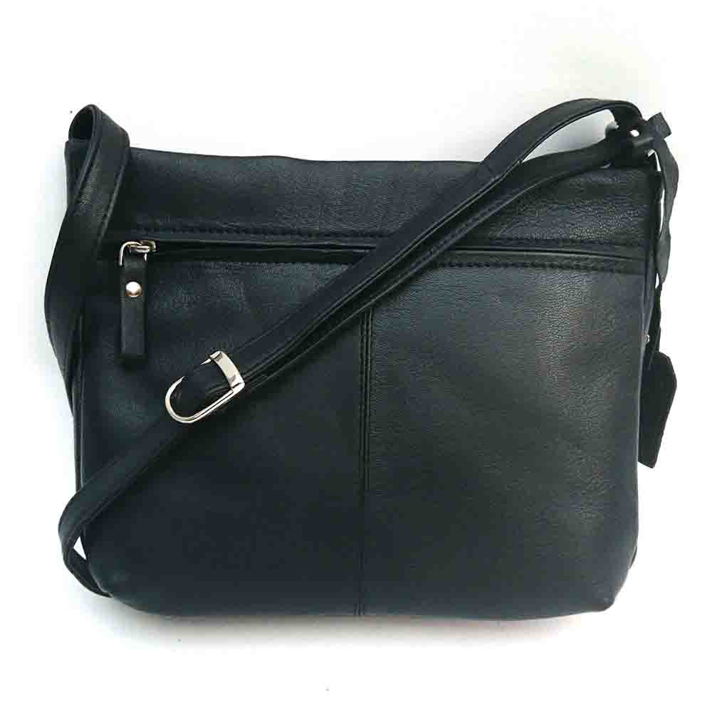 black-leather-double-stitched-bag