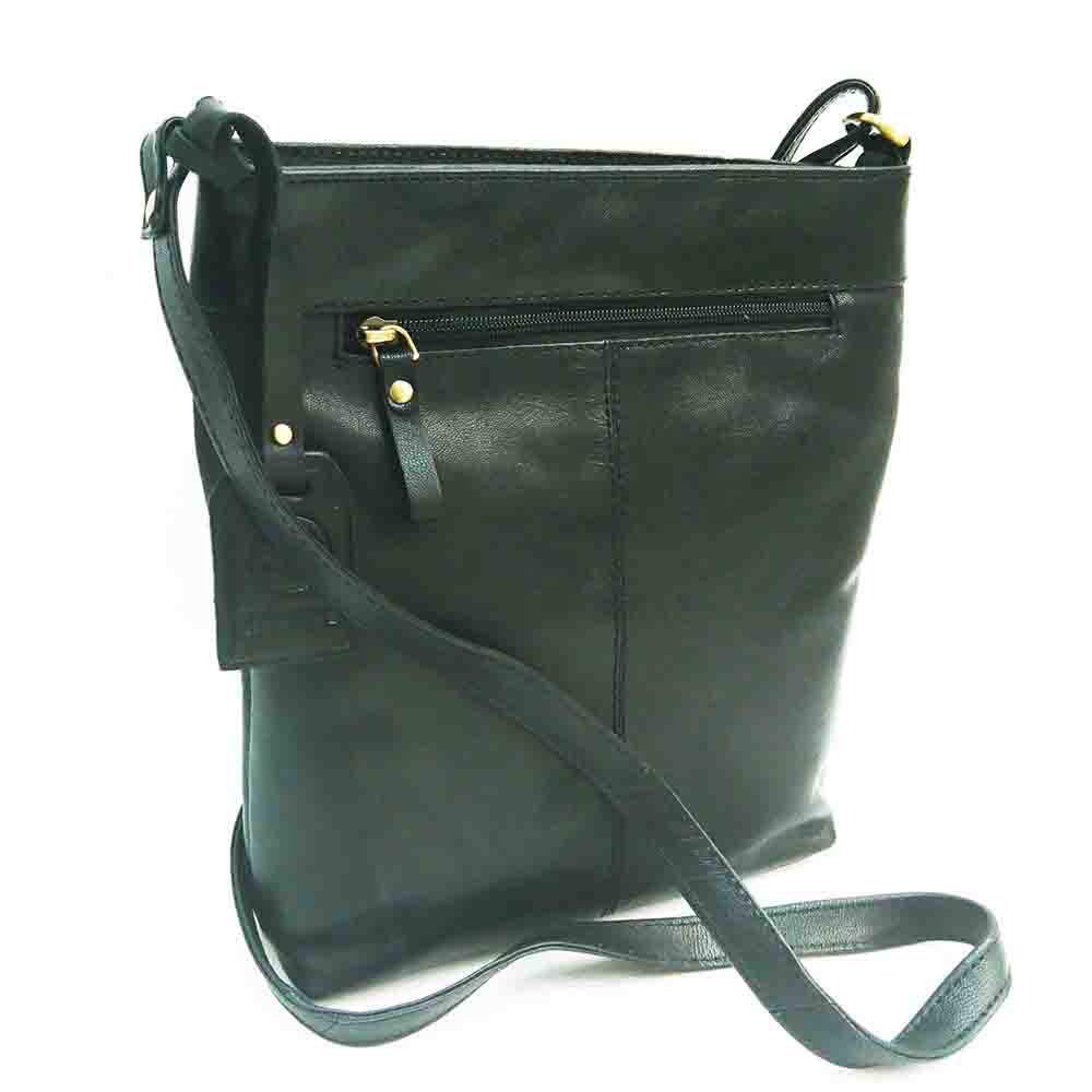 black-leather-tall-triple-zip-bag