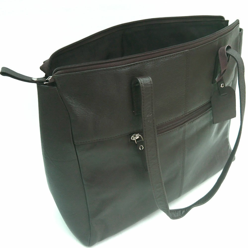 double-front-pocket-leather-bag-brown