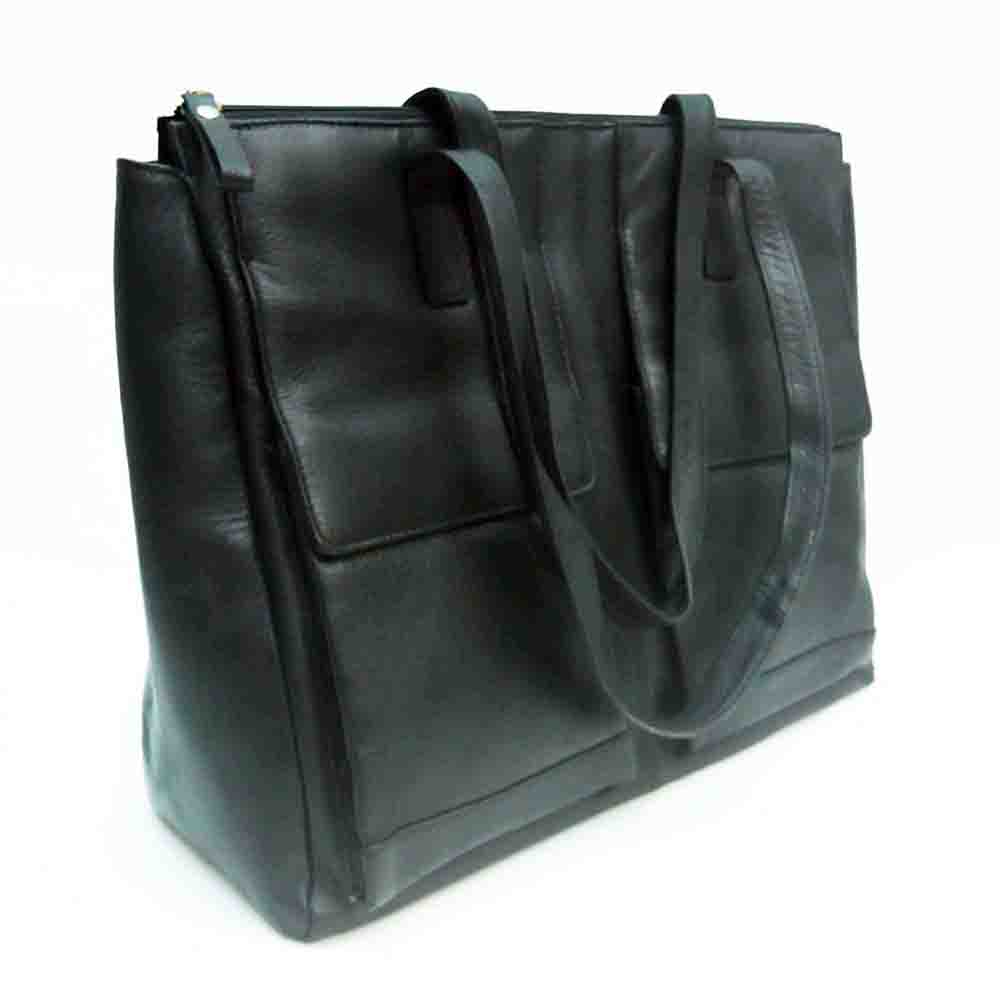 large-black-leather-twin-pocket-bag-2