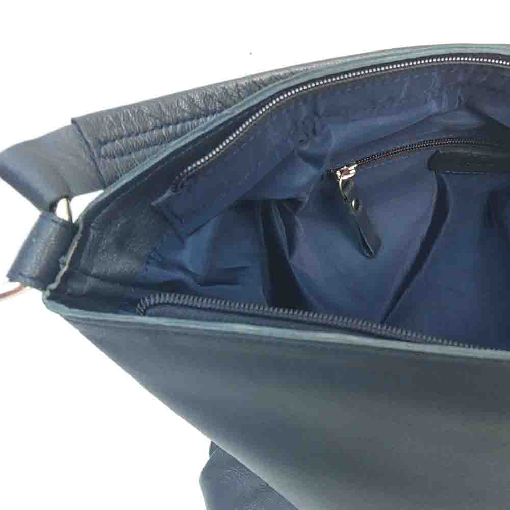 large-navy-leather-zip-bag