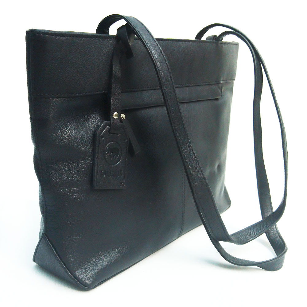 twin-handle-leather-business-bag-black