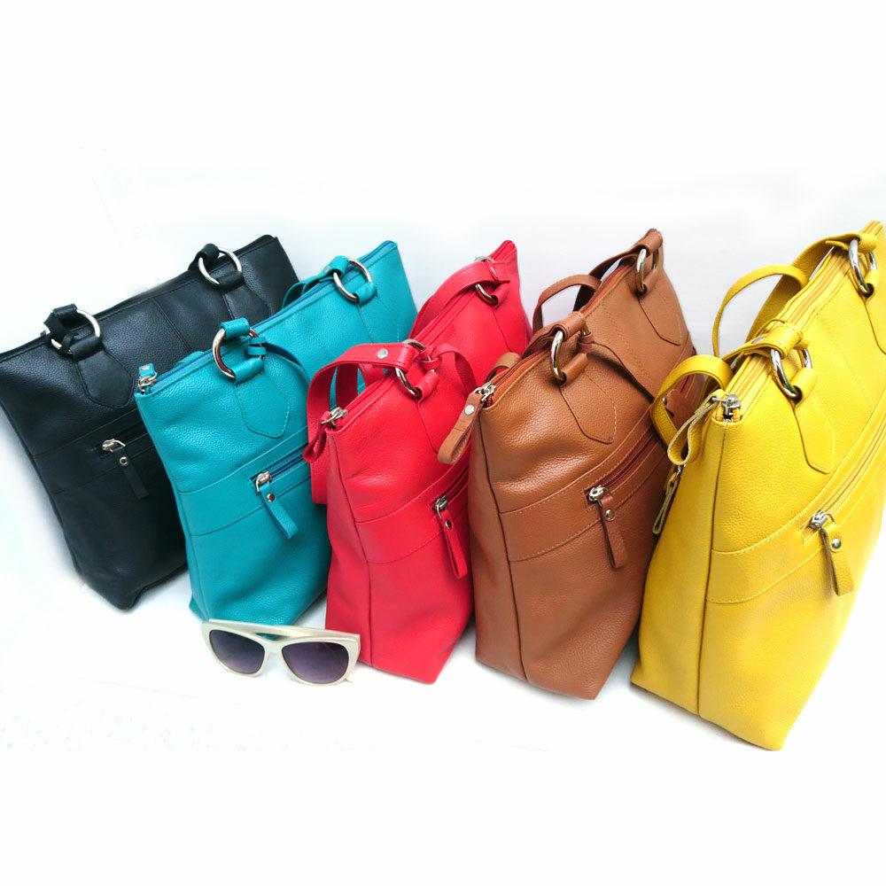 Twin-handle-leather-city-bag