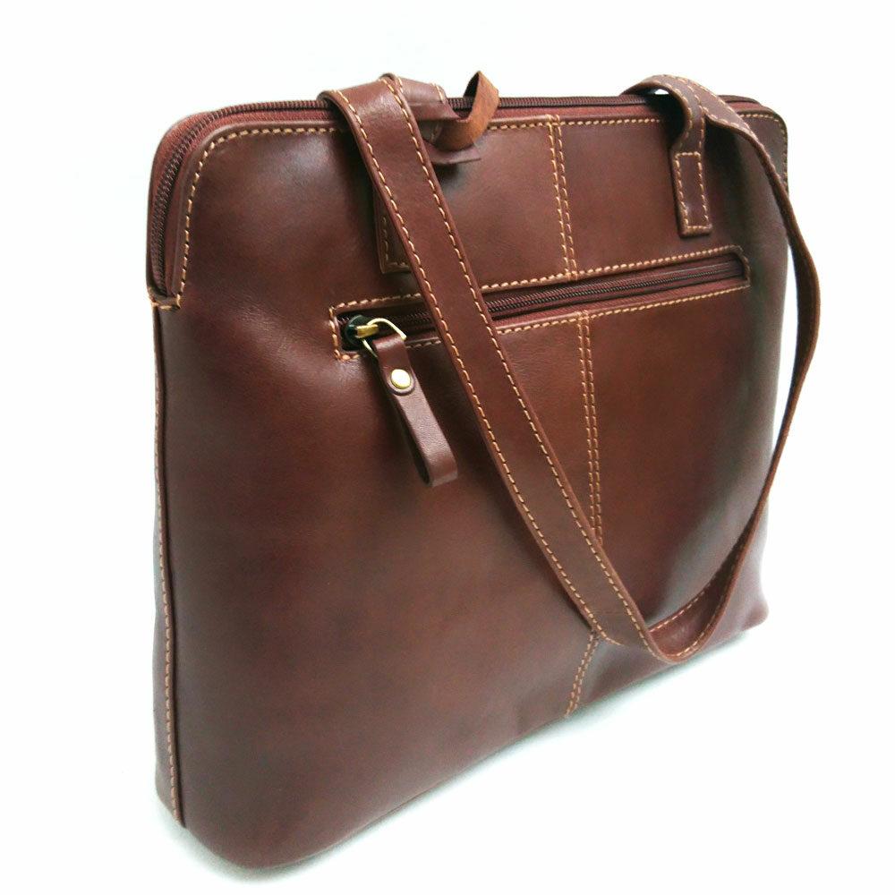 twin-long-handle-leather-stitch-bag-tan